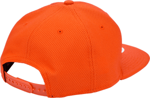 Orange & White, Mesh Snapback - DudeProducts