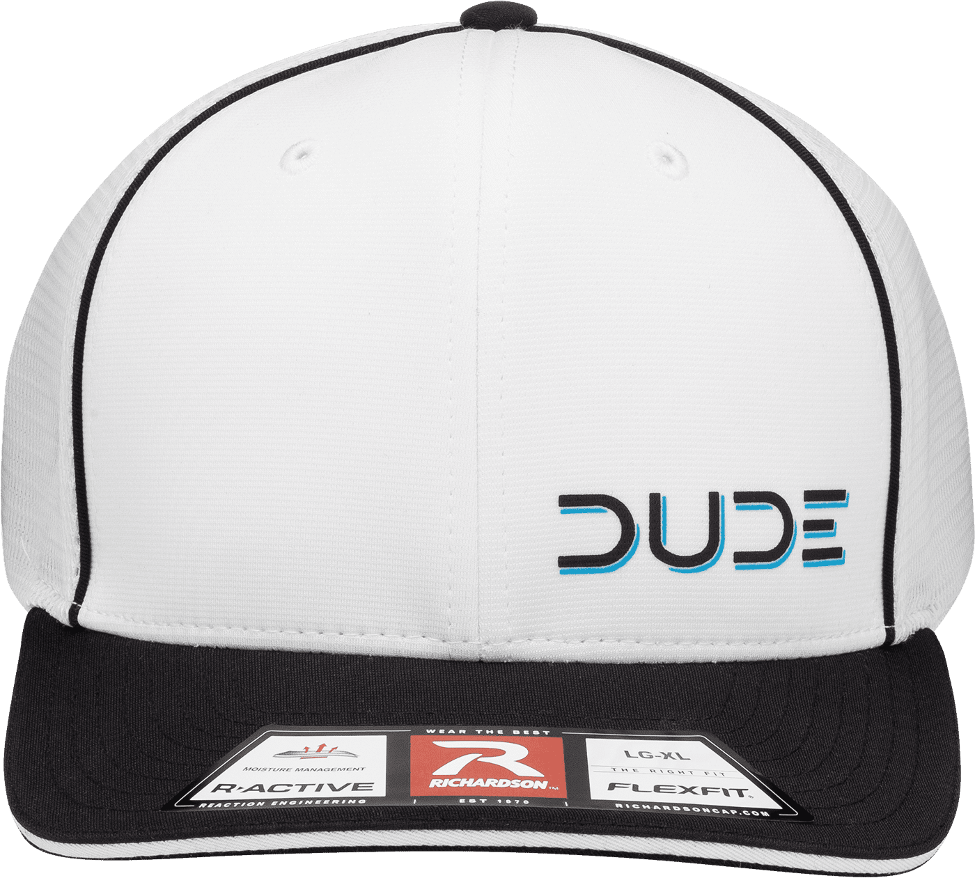 White, Sportsmesh Flex Fit - DudeProducts