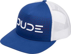 Royal & White, 5 panel Trucker - DudeProducts