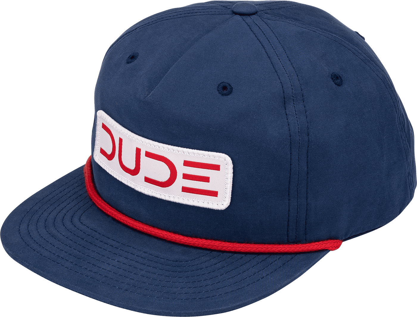 Navy Umpqua Snapback Hat - DudeProducts