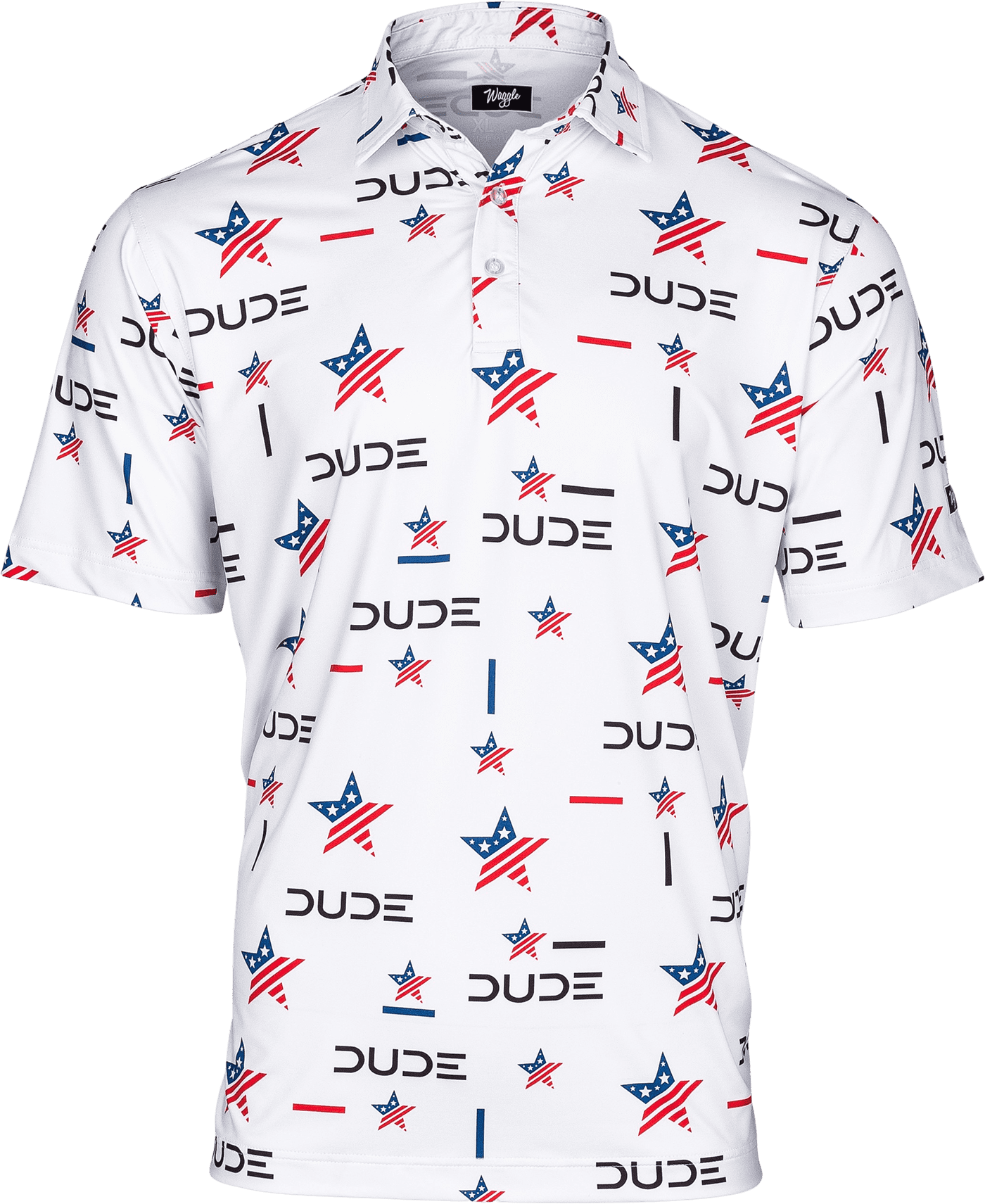 DUDE Golf Polo, USA - DudeProducts
