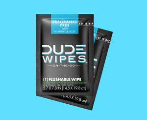 DUDE Wipes - 30pk Singles