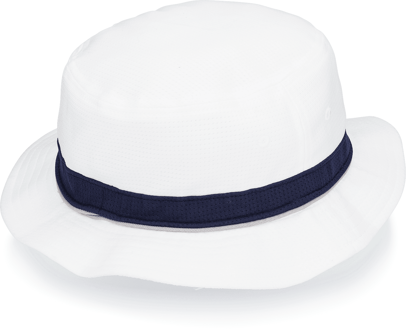 WHITE & NAVY Pro-Max Tech Bucket Hat - DudeProducts