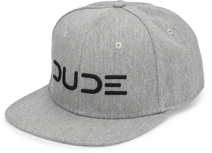 Cotton Twill High Crown Snapback - DUDE Products