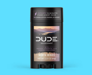 North Winds Deodorant Front - Dude Products