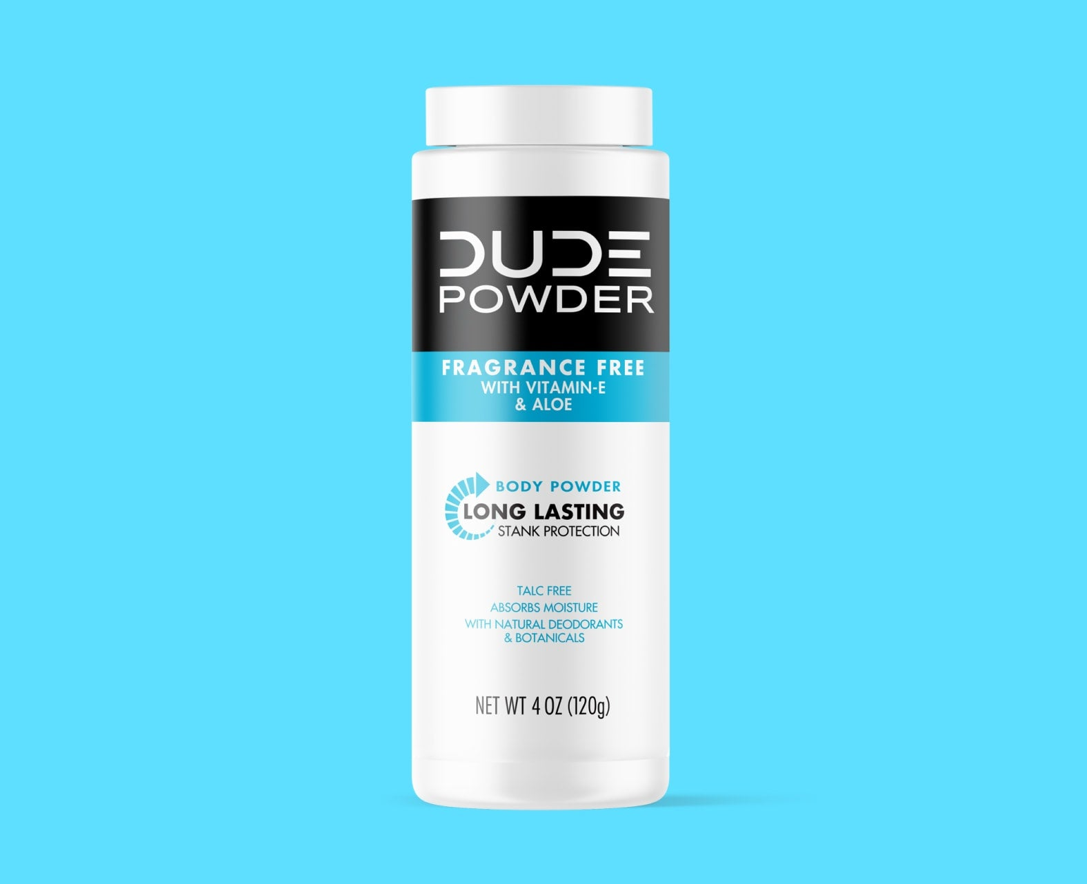 Dude Fragrance Free Powder Front