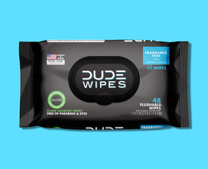 Fragrance Free DUDE Wipes