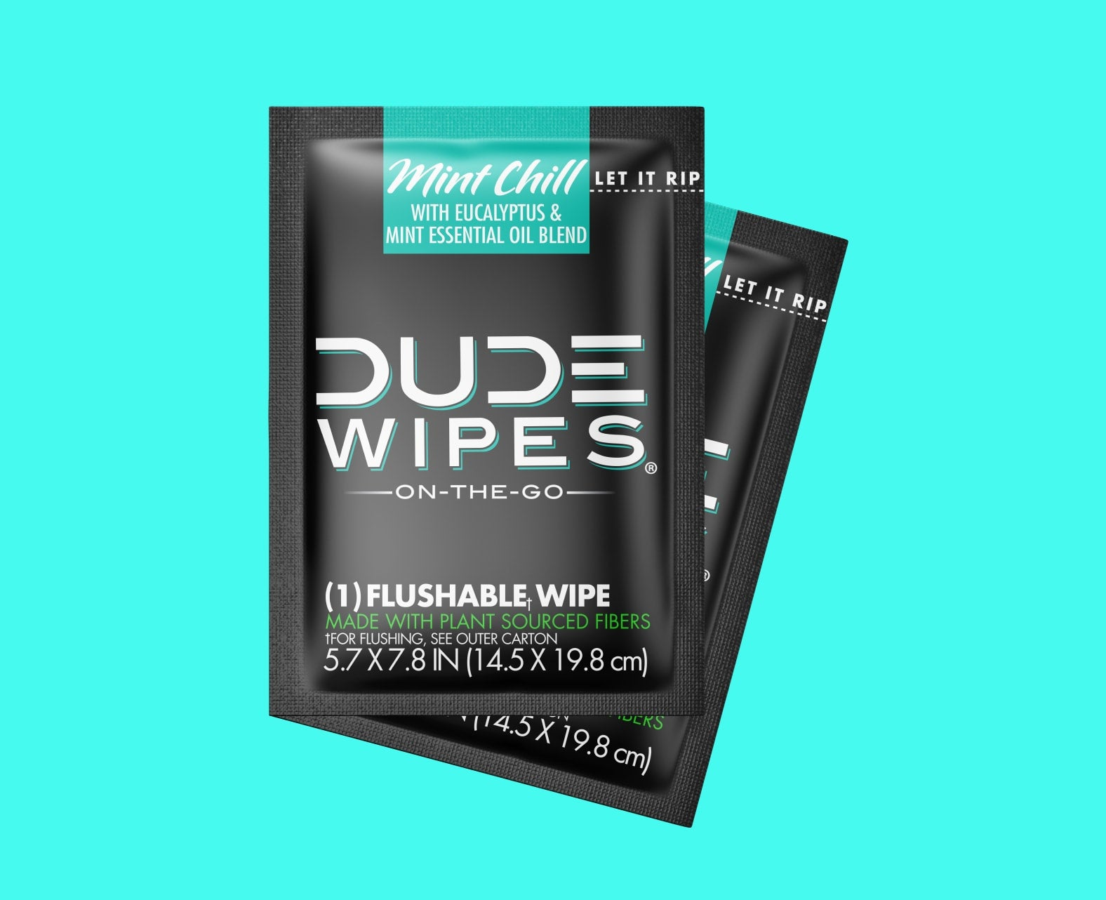 Mint Chill DUDE Wipes - 30pk Singles