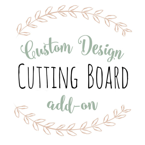 Custom Add-On for Cutting Board