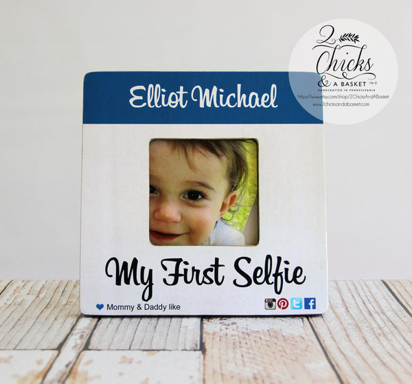 My First Selfie Picture Frame, Cute Children's Picture Frame, First Selfie, Funny Kid Frame