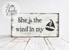 He's My Anchor and She's The Wind In My Sails Sign Set (2 Signs), Engagement Photo Props, Beach Wedding Signs