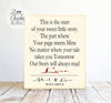 This Is The Start Of Your Sweet Little Story Sign, Wedding Sign, Personalized Wedding Gift
