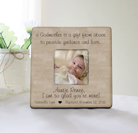 Welcome easter sign welcome bunny wall sign primitive easter a godmother is a gift from above picture frame personalized baptism frame godparent gift negle Gallery