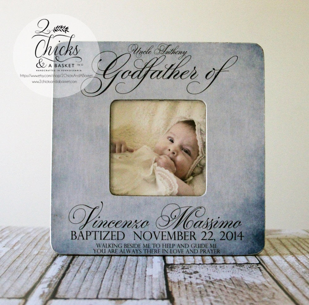 Godfather gift personalized baptism picture frame godparent gift godfather gift personalized baptism picture frame godparent gift baptism gift idea godparent picture frame jeuxipadfo Choice Image