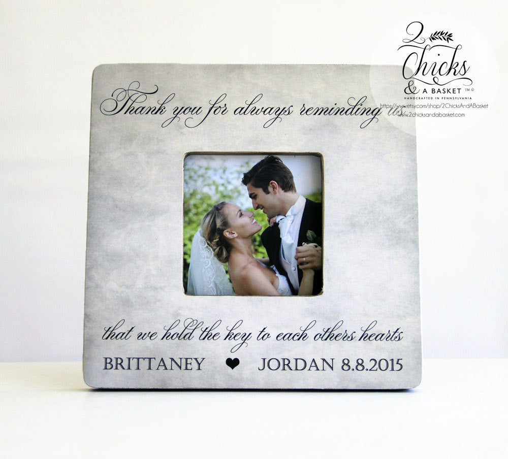 Thank You Gift for Parents Picture Frame, Personalized Parent ...