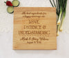 The Best Ingredients For A Happy Marriage Cutting Board, Personalized Engraved Cutting Board, Great Gift Idea