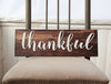 Thankful Sign, Rustic Style Sign, Rustic Kitchen Decor, Dining Room Sign, Be Thankful Sign