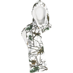 Snow Forest Camo Lifestyle Hooded Scarves - Trailcrest.com