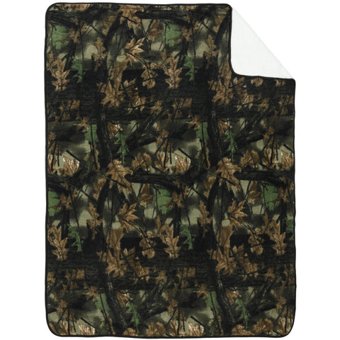 60X80 Soft Touch Reversible Camo Blanket - Trailcrest.com