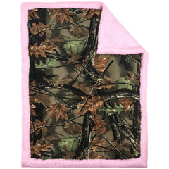 Baby Soft Sherpa Camo Blanket - Trailcrest.com