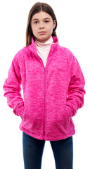 Kids Heathered Chambliss Fleece Jacket - Trailcrest.com