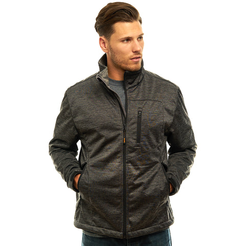 Men's Heather Waterproof Breathable XRG Soft Shell Jacket