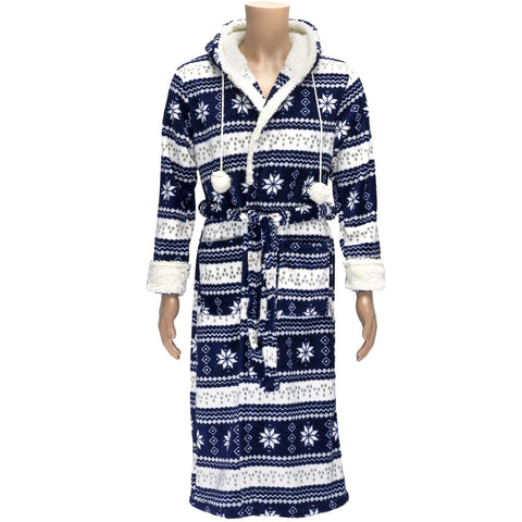 Romanta Nordic Fleece Robe With Belt - Trailcrest.com