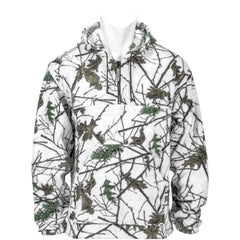 Kids Snow Forest Camo Chambliss 1/4 Zip Hoodie - Trailcrest.com