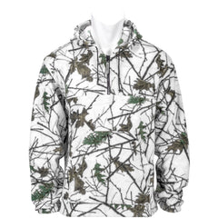 Women's Snow Forest Camo Chambliss 1/4 Zip Hoodie - Trailcrest.com
