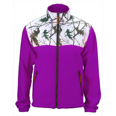 Women's Snow Forest Camo C-Max Full Zip Wind Jacket - Trailcrest.com