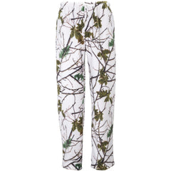 Women's Snow Forest Camo Daysor Lounge Pajama Bottom - Trailcrest.com