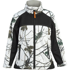 Kids Snow Forest Camo Custom Xrg Soft Shell Jacket - Trailcrest.com