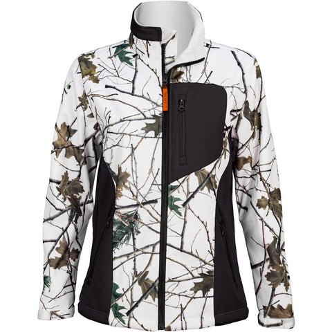 Women's Snow Forest Camo Custom Xrg Soft Shell Jacket - Trailcrest.com