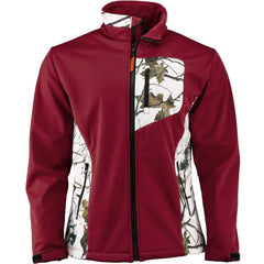 Men's Snow Forest Camo Custom Xrg Soft Shell Jacket - Trailcrest.com