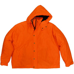 Men's Blaze Orange Insulated Water Repellent Jacket - Trailcrest.com