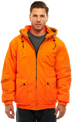Men's Blaze Orange Evolton Insulated Tanker Jacket - Trailcrest.com