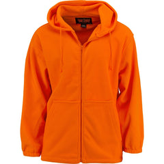 Men's Blaze Orange Chambliss Full Zip Hoodie - Trailcrest.com