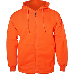 Kids Blaze Orange Double Fleece Hoodie - Trailcrest.com