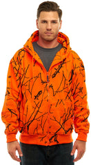 Men's Blaze Camo Full Zip Hooded Jacket - Trailcrest.com