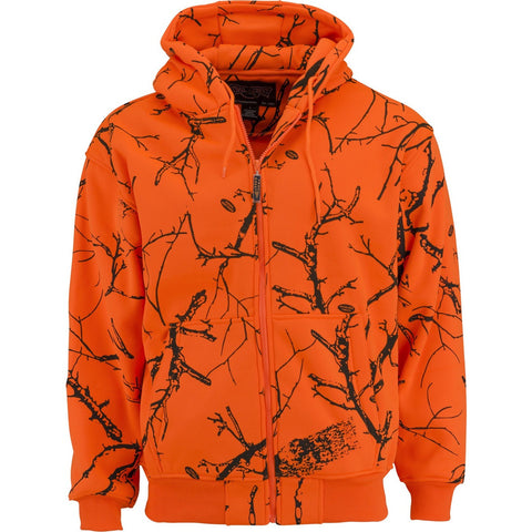 Kids Blaze Camo Double Fleece Hoodie - Trailcrest.com