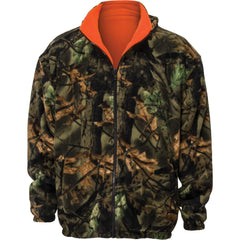 Kids Blaze Orange Thurmond Reversible Jacket - Trailcrest.com