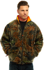 Men's Camo Thurmond Reversible Jacket