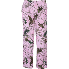 Girls Pink Forest Camo Cambrillo 4-Pocket Sweatpants - Trailcrest.com