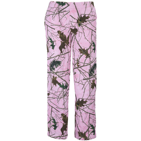 Women's Pink Forest Camo Cambrillo 4-Pocket Sweatpants - Trailcrest.com