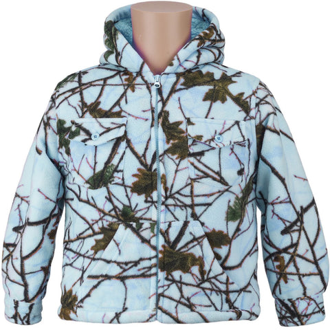 Kids Camo Thurmond Sherpa  Lined Jacket - Trailcrest.com