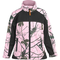 Toddler Pink Camo Xrg Soft Shell Jacket - Trailcrest.com