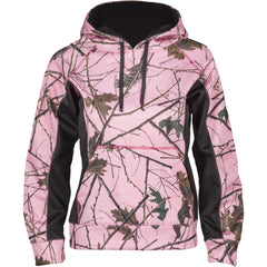 Girls Pink Forest Camo Xrg Soft Shell Hoodie - Trailcrest.com