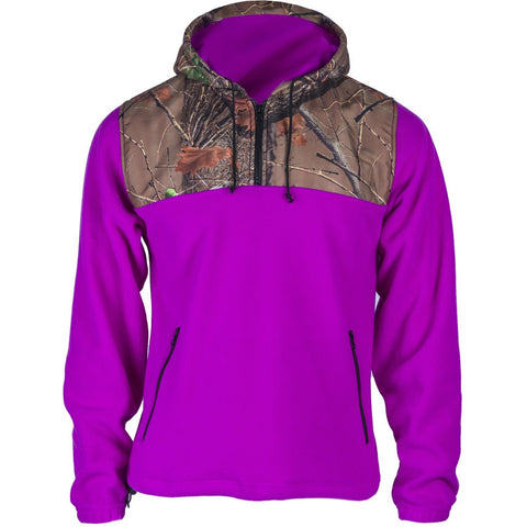 Women's Camo C-Max Hooded 1/4 Zip Hoodie - Trailcrest.com
