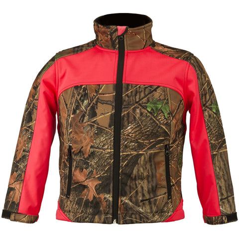 Kids Camo Custom Xrg Soft Shell Jacket - Trailcrest.com
