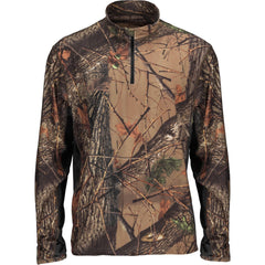 Men's Camo Impulse 4-Way Stretch 1/4 Zip Jacket - Trailcrest.com